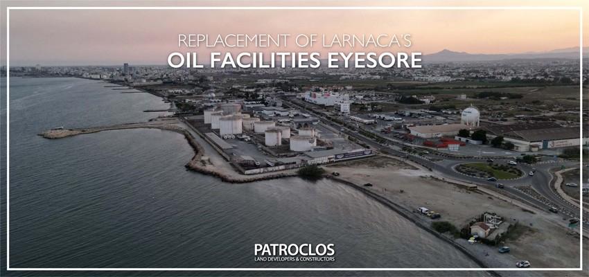 Update on Larnaca's oil facilities eyesore