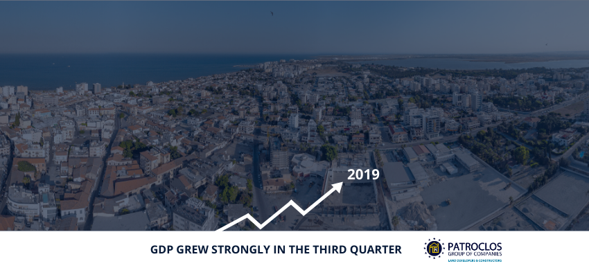 GDP grew strongly in the third quarter of 2019
