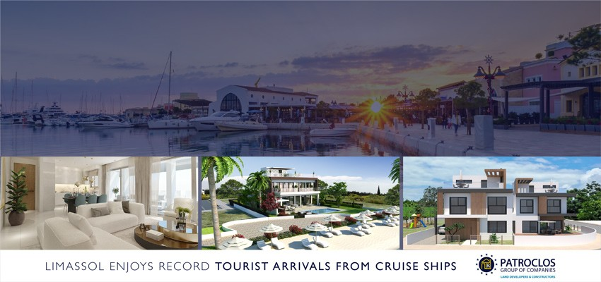 New record tourist arrivals in Limassol from cruise ships