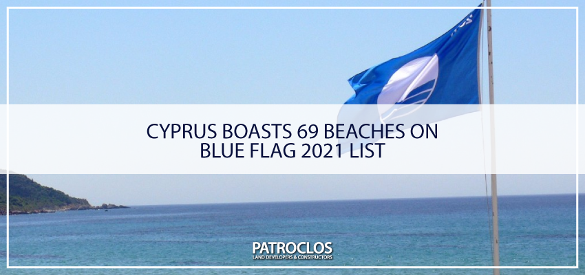 Cyprus boasts 69 beaches on Blue Flag 2021 list