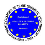 SEAL OF CERTIFIED QUALITY European Economic Chamber of Trade Commerce and Industry, Brussels